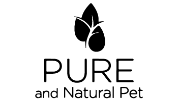 pure and natural pet logo